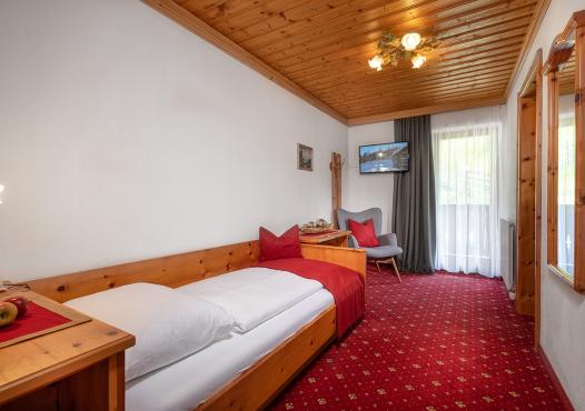 Zirben Einbettzimmer - 15 bis 17 m²